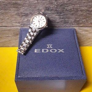 Edox swiss made watch lady